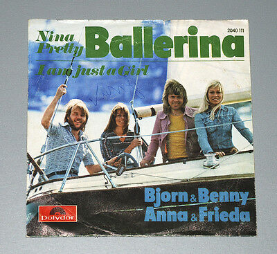7 Single ABBA Björn & Benny Anna & Frieda Nina Pretty Ballerina I am just a girl