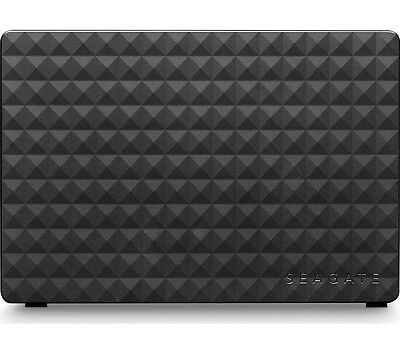 SEAGATE Expansion External Hard Drive 5 TB Black USB 3.0 Mains Powered Black