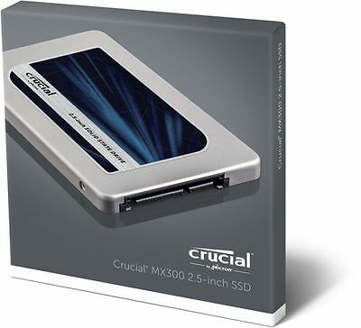 "Crucial MX300 525GB SATA 2.5"" 7mm Internal SSD New UK stock CT525MX300SSD1 SOLID"