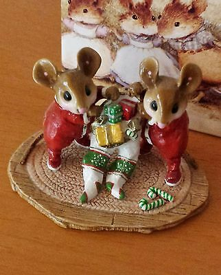 "Wee Forest Folk M-329 ""Two For One""  Mint"