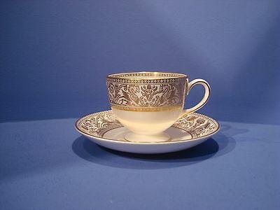 Wedgwood Florentine Gold Teacups And Saucer