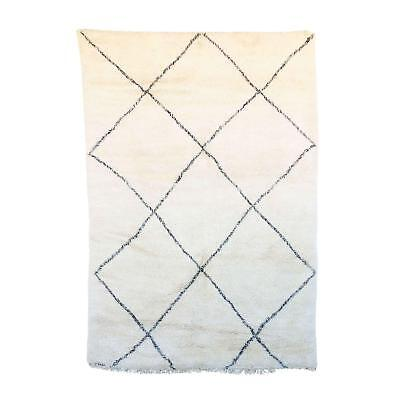 "Lovable Beni Ourain Moroccan Rug - 7'1"" x 10'7"""