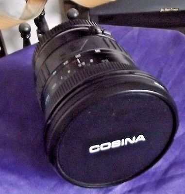 Cosina 19-35mm Fish Eye Lens with Case Cannon AF Fit
