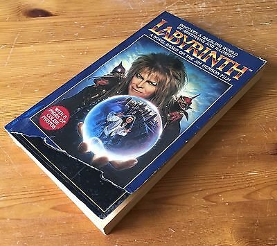 Labyrinth Novel - A C H Smith - Acceptable Book - Bowie Henson