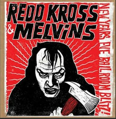 "Rare Ltd Edition Melvins & Redd Kross New Years Eve Ballroom Blitz 12"" Vinyl"