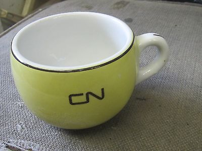 1965 Cnr Canadian National Railroad Railway Duraline Coffee Mug Cassidy's Canada