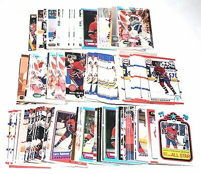 800 Count Box Full Of Montreal Canadiens Hockey Cards 1990's  M109