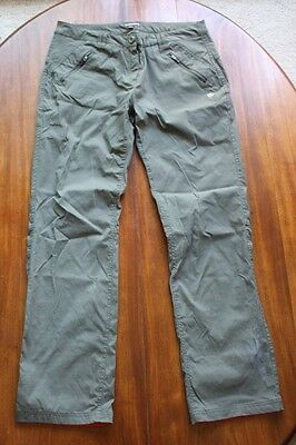 CRAGHOPPERS Dark Grey Bootcut Hiking Walking Trousers size 14
