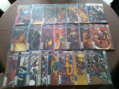 "Lot 22 comics ""Ultimate Spider-Man"""