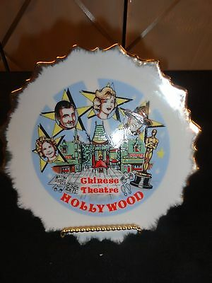 Vintage Graumans Manns TCL Chinese Theater Hollywood Souvenir plate