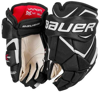 Bauer Vapor 1X PRO BRAND NEW Ice Hockey Gloves Size Senior Hokejam.co.uk