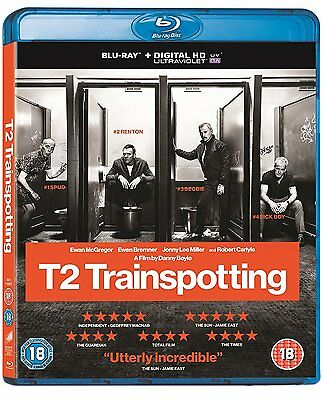 T2 Trainspotting [Blu-Ray] Limited Edition - New & Sealed