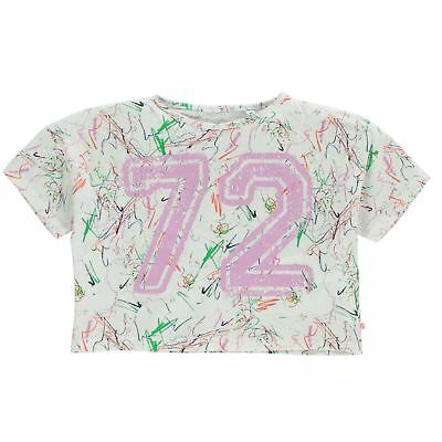 French Connection Niños 72 Mangas Cortas Camiseta Infantiles Chicas Ropa Vestir