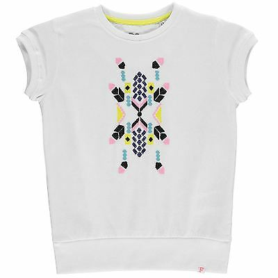 French Connection Niños Estampa Camiseta Cuello Redondo Manga Cortas Ropa