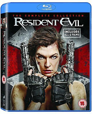 Resident Evil: The Complete Collection [Blu-ray] [2017]  - New & Sealed
