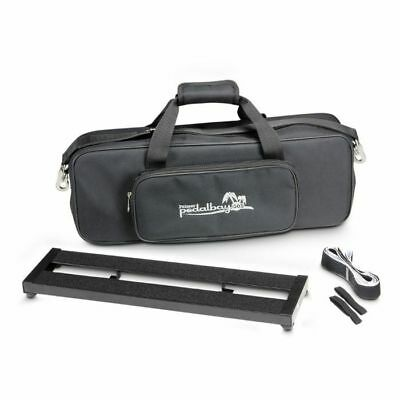 Palmer MI Pedalbay 50S Lightweight Compact Pedalboard With Protective Softcas...