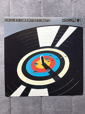 Eagles Greatest Hits RARE promo 12 x 12 poster flat '82