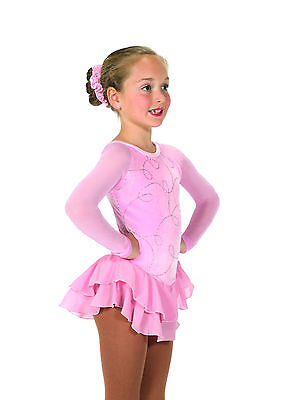 New Jerrys  Skating Dress 15 In the Loop Dress – Ballet Pink Made on Order