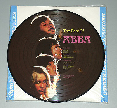 12 LP RAR PICTURE DISC ABBA Best of ABBA Limited Edition