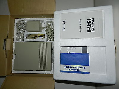 Commodore 1541 II Disk Drive, OVP, guter Zustand!