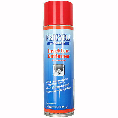 Motorcycle Procycle Paintwork Insect Cleaner 500ml UK Seller