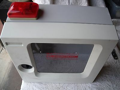 Cardiac Science AED Wall Cabinet w/ Audible Alarm and Warning Lights! L4