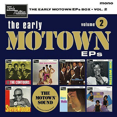 "The Early Motown EPs Volume 2 - New 7"" Vinyl Box Set Supremes Stevie Wonder"