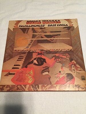Stevie Wonder Fulfillingness/ First Final Album 1974