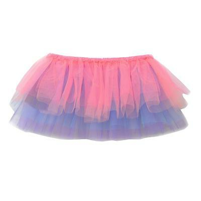 NEW Girls Tutus Freestyle By Danskin Multi-colored XS/S (4-6x) Skirt Cute Fun