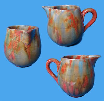 Vintage Small Jug Multi-Coloured Hand Crafted