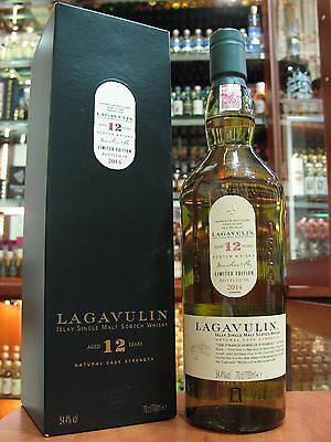 Rare Lagavulin 12yo-2014. Islay Single Malt  Whisky.700ml - 54.4%