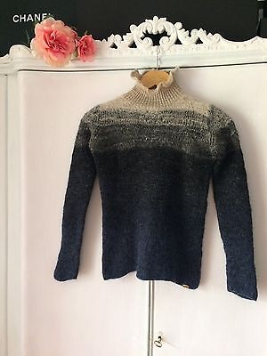 Chanel Maglione Sweater Jumper Donna T-shirt Dress 100% Authentic Size 40