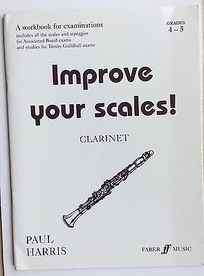 Improve Your Scales - Grades 4-5 Clarinet