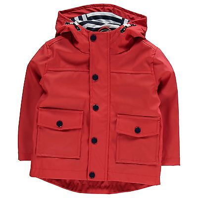 Crafted Niños Impermeable Infantiles Chicos Chaqueta Exterior Ropa Vestir Casual