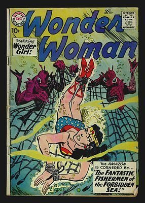DC Comics WONDER WOMAN #117 Wonder Girl VG 4.0