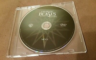Brand New 2017 Fantastic Beasts and Where To Find Them Dvd Movie Disc Only