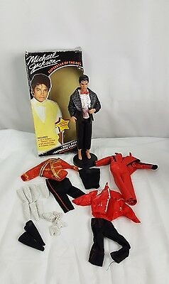 Lot 1984 Michael Jackson Superstar Of The 80s Doll Thriller Beat It Music Awards