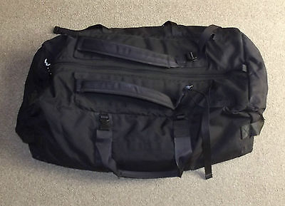 British Army Issued Black Deployment Holdall, Large Size