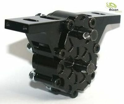 1:14 Transfer Case 2:1 High Aluminum Black