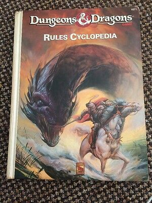 Dungeons And Dragons Rules Cyclopedia / Encyclopaedia