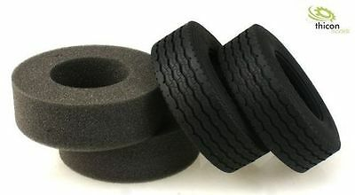 1:14 Tyres ''STREET '' wide with Deposits Pair