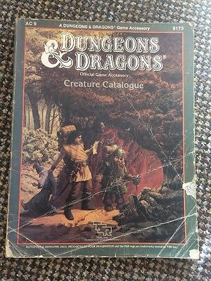 Dungeons And Dragons Creature Catalogue