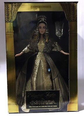 Elizabeth Taylor as Cleopatra Doll Mattel 1st in Series 2009 RARE!