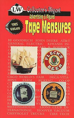 Advertising Figural Tape Measures / Illustrated Book + Values