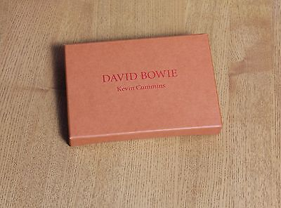 DAVID BOWIE by Kevin Cummins - collection of 30 postcards in hand finished box