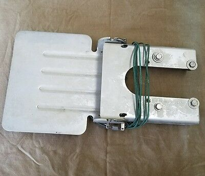 """The Happy Troller"" Outboard Motor Aluminum 10""x 11"" Trolling Plate"