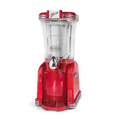 Nostalgia Retro Series 32 oz. Single-Speed Slushee Machine and Drink Maker, Red