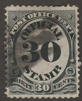 USA Scott #  O 55 Official Post Office Department  30 Cent used  ( o55-1)