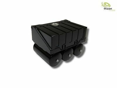NEW 1:16 Battery Box from Aluminum Black with Pressure Air Tank