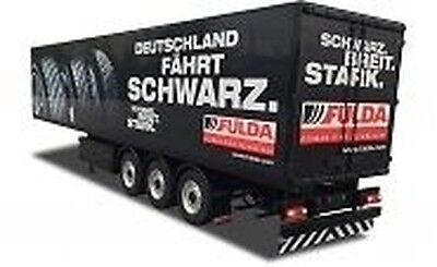 1:14 Fulda Box Trailer M.Light Fert